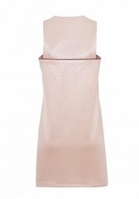 Short A- line dress in pink color